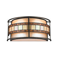 ELK Lighting Annondale 2 Light Wall Sconce in Tiffany Bronze 70190-2