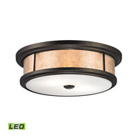 ELK Lighting Annondale LED Flush Mount in Tiffany Bronze 70193-2-LED