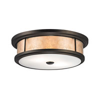 ELK Lighting Annondale 2 Light Flush Mount in Tiffany Bronze 70193-2