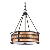 ELK Lighting Annondale 3 Light Pendant in Tiffany Bronze 70196-3