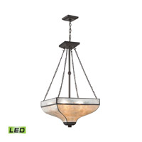 Elk Lighting Santa Fe LED Chandelier in Tiffany Bronze 70204/3-LED