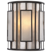 Minden 1 Light 8 inch Tiffany Bronze Wall Sconce Wall Light