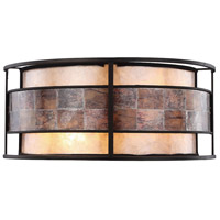 Tremont 2 Light 14 inch Tiffany Bronze Wall Sconce Wall Light