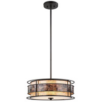 Tremont 3 Light 18 inch Tiffany Bronze Chandelier Ceiling Light