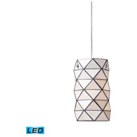 ELK 72021-1-LED Tetra LED 7 inch Polished Chrome Pendant Ceiling Light