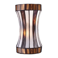 Delgado 2 Light 7 inch Black Chrome Wall Sconce Wall Light