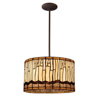 ELK Lighting Desert Mirage 3 Light Pendant in Dark Bronze 72048-3