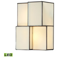 ELK 72060-2-LED Cubist LED 7 inch Brushed Nickel Sconce Wall Light