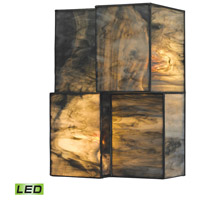 ELK 72070-2-LED Cubist LED 7 inch Brushed Nickel Sconce Wall Light