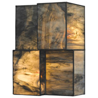 ELK 72070-2 Cubist 2 Light 7 inch Brushed Nickel Sconce Wall Light in Incandescent