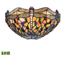 Dragonfly LED 13 inch Dark Bronze Wall Sconce Wall Light