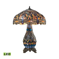 ELK Lighting Dragonfly LED Table Lamp in Dark Bronze 72079-3-LED