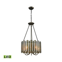 ELK 72135/5-LED Lineage LED 18 inch Oil Rubbed Bronze Chandelier Ceiling Light