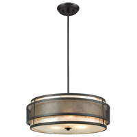 ELK 72185/3 Beckley 3 Light 20 inch Oil Rubbed Bronze Chandelier Ceiling Light
