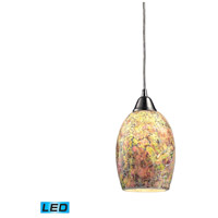 ELK Lighting Avalon 1 Light Pendant in Satin Nickel 73021-1-LED