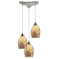 Elk Avalon 3 Light Pendant Satin Nickel LED