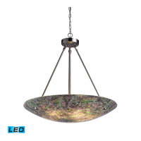 Avalon LED 24 inch Satin Nickel Pendant Ceiling Light