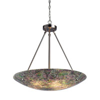 Avalon 5 Light 24 inch Satin Nickel Pendant Ceiling Light in Standard