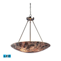 ELK Lighting Avalon 5 Light Pendant in Satin Nickel 73033-5-LED