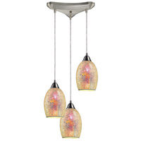 ELK Lighting Avalon 3 Light Pendant in Satin Nickel 73041-3
