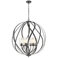 ELK 75096/6 Daisy 32 inch Midnight Bronze Chandelier Ceiling Light