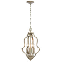 ELK 75104/4 Lanesboro 12 inch Dusted Silver Pendant Ceiling Light