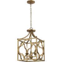 ELK 75125/3 Wembley 13 inch Antique Gold Chandelier Ceiling Light