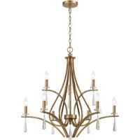 ELK 75148/9 Katania 30 inch Antique Gold Chandelier Ceiling Light