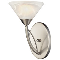 Elysburg 1 Light 7 inch Satin Nickel Sconce Wall Light