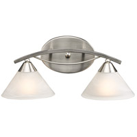 Elysburg 2 Light 18 inch Satin Nickel Vanity Light Wall Light