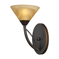 Elysburg 1 Light 7 inch Aged Bronze Sconce Wall Light
