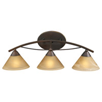 ELK Lighting Elysburg 3 Light Vanity in Aged Bronze 7642/3