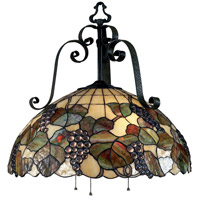 ELK Lighting Harvest 3 Light Chandelier in Antique Iron 785-AI
