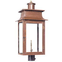 Maryville 30 inch Aged Copper Gas Post Lantern