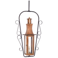 Maryville 9 inch Aged Copper Gas Ceiling Lantern