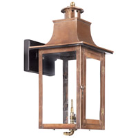 Maryville 20 inch Aged Copper Gas Wall Lantern
