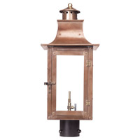 Maryville 23 inch Aged Copper Gas Post Lantern
