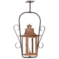 Maryville 11 inch Aged Copper Gas Ceiling Lantern