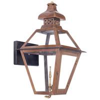 ELK 7917-WP Bayou 23 inch Aged Copper Gas Wall Lantern