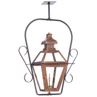 ELK Lighting Bayou Gas Ceiling Lantern in Washed Pewter 7920-WP