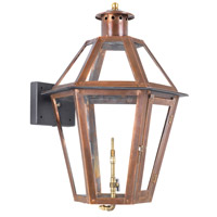 ELK Lighting Grande Isle Gas Wall Lantern in Aged Copper 7921-WP
