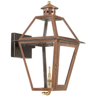 ELK Lighting Grande Isle Gas Wall Lantern in Aged Copper 7929-WP