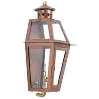 ELK Lighting Grande Isle Gas Wall Lantern in Aged Copper 7940-WP
