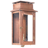 Maryville 17 inch Aged Copper Gas Wall Lantern