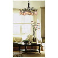 ELK Lighting Alitalia 9 Light Chandelier in Blackened Rust 7948/6+3 alternative photo thumbnail