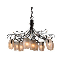 ELK Lighting Alitalia 9 Light Chandelier in Blackened Rust 7948/6+3 photo thumbnail