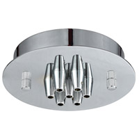 Elk Lighting Pendant Options 7 Light Canopy in Polished Chrome 7SR-CHR