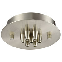 Elk Lighting Pendant Options 7 Light Canopy in Satin Nickel 7SR-SN