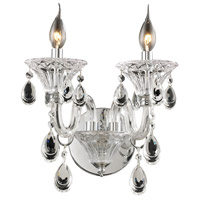Nulco by ELK Lighting Formont 2 Light Chandelier in Clear 80000/2