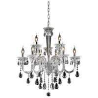 Nulco by ELK Lighting Formont 9 Light Chandelier in Clear 80003/6+3
